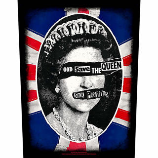 Veľká nášivka The Sex Pistols - God Save the Queen