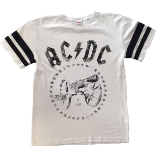 Tričko AC/DC -  For Those About to Rock American Football Style