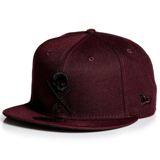 Šiltovka Sullen - New Era Fitted - Badge Maroon
