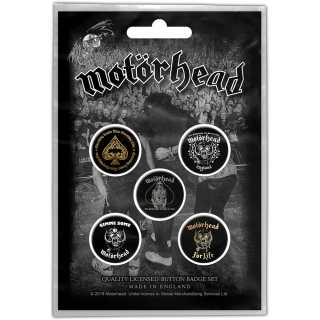 Set odznakov Motorhead - Clean Your Clock
