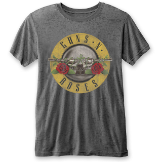 Fashion tričko Guns N Roses - Classic Logo (Burn Out)