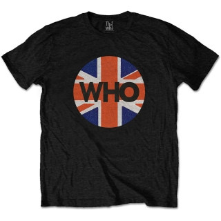Tričko The Who - Union Jack Circle