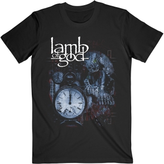 Tričko Lamb of God - Circuitry Skull Recolor