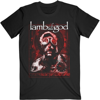 Tričko Lamb of God - Gas Mask Waves