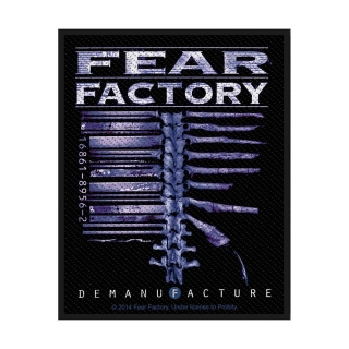 Malá nášivka - Fear Factory - Demanufacture