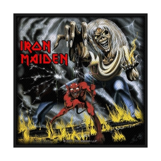 Malá nášivka - Iron Maiden - Number of the Beast