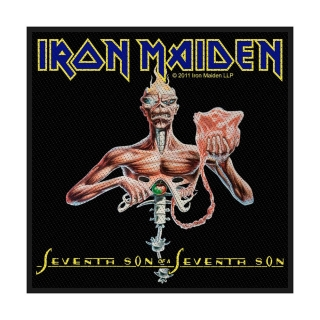 Malá nášivka - Iron Maiden - Seventh Son