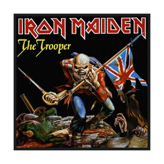 Malá nášivka - Iron Maiden - The Trooper