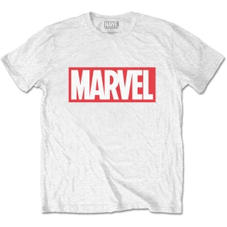 Tričko Marvel Comics - Marvel Box Logo