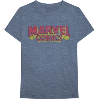 Tričko Marvel Comics - Distressed Logo