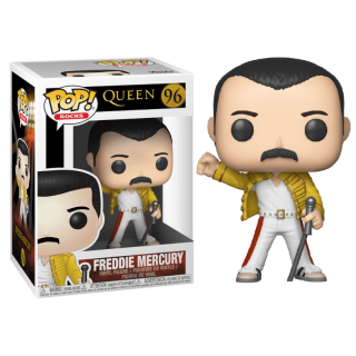 Figúka Funko POP - Queen - Freddie Mercury - Wembley 1986