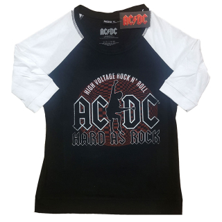 Unisex Raglan tričko AC/DC - Hard As Rock