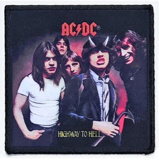 Nažehlovačka AC/DC - Highway To Hell