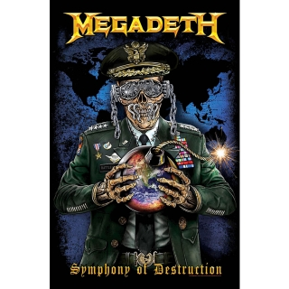 Textilný plagát Megadeth - Symphony of Destruction