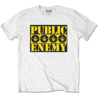Tričko Public Enemy - Four Logos