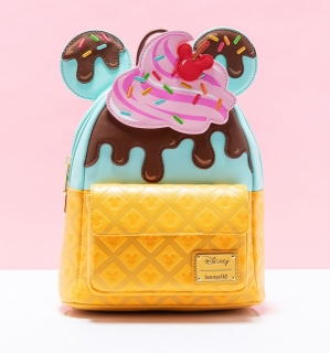 Mini batoh Loungefly - Disney - Ice Cream Minnie
