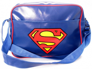 Taška - Superman - Logo Messenger Bag - Blue