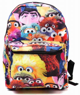 Batoh - Sesame Street - All Charakters Back Pack