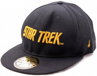 Šiltovka - Star Trek - Golden Text Cap - Black