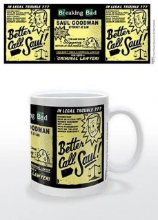 Hrnček - Better Call Saul - Advert Mug