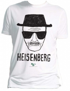 Tričko - Breaking Bad - Heisenberg White