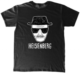 Tričko - Breaking Bad - Heisenberg, Black
