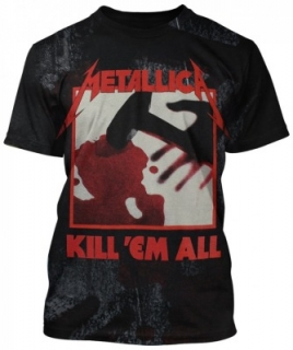 Tričko Metallica - Ingrained Kill 'Em All
