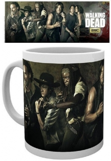 Hrnček - The Walking Dead - Cast Mug