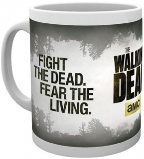 Hrnček - The Walking Dead - Fight The Dead Mug