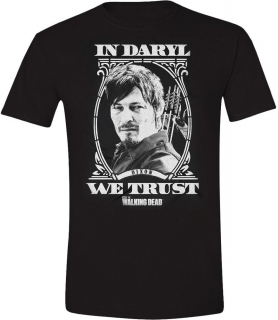 Tričko - The Walking Dead - In Daryl We Trust
