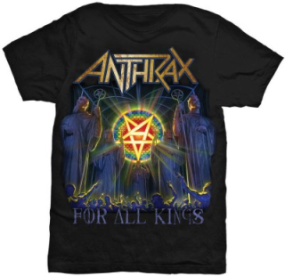 Tričko Anthrax - For All Kings Cover