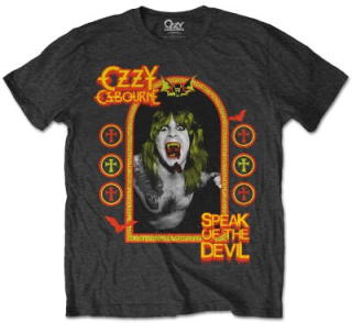 Tričko Ozzy Osbourne - Speak of the devil