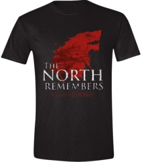 Tričko - Game of Thrones - The North Remembers