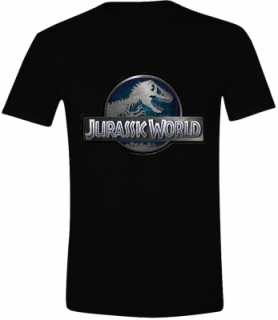 Tričko - Jurassic World - Logo, Black