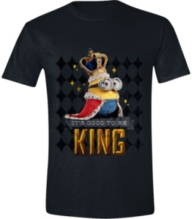 Tričko - Minions Movie - Its Good to be King