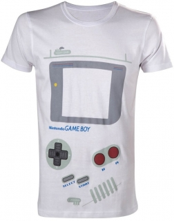 Tričko - Nintendo - Gameboy, White