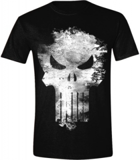 Tričko -The Punisher - Distressed Logo