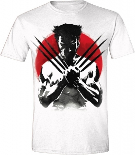 Tričko - Wolverine - Japan, White