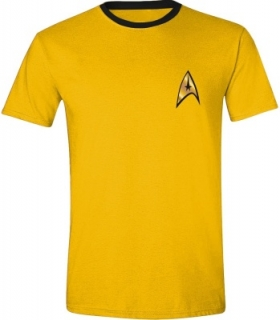 Tričko - Star Trek - Kirk Uniform, Yellow