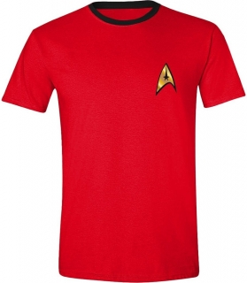 Tričko - Star Trek - Scotty Uniform, Red