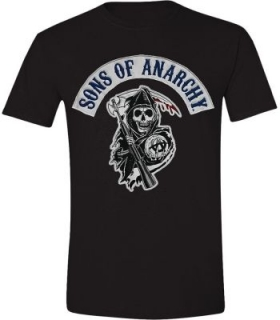 Tričko - Sons of Anarchy - Logo Patch