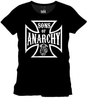 Tričko - Sons of Anarchy - Reaper Cross