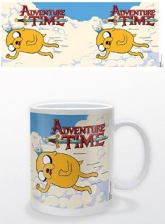 Hrnček - Adventure Time - Jake and Finn Flying
