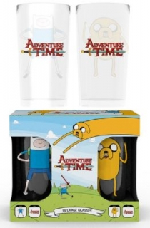 Poháre - Adventure Time - Fin and Jake Large