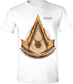 Tričko Assassins Creed - Gold Icon, White