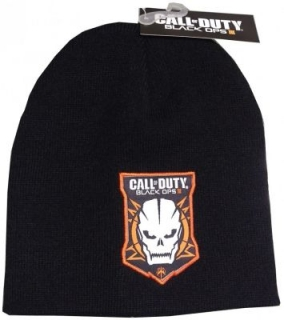 Zimná čiapka - Call of Duty - Black Ops 3 - Skull Patch Beanie