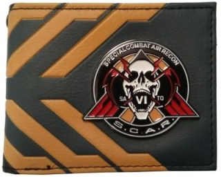 Peňaženka - Call Of Duty - Infinite Warfare Wallet - Black