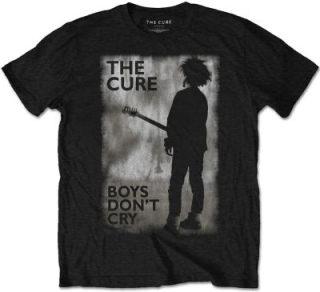 Tričko The Cure - BOYS DON'T CRY BLACK & WHITE