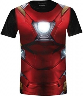 Tričko Iron Man - Costume Full Printed