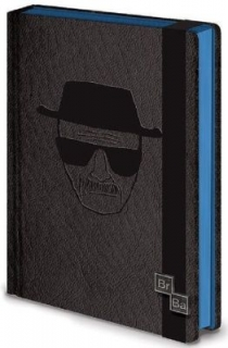 Diár - Breaking Bad - Heisenberg Black Notebook